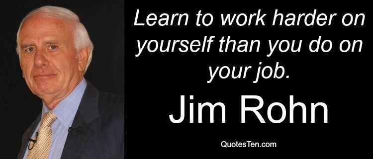 Džim Ron – Uspeh je lak kao i zanemarivanje