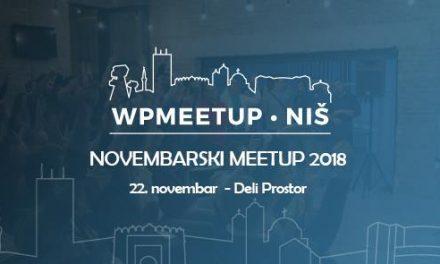 WP meetup 22. novembra u Nišu!